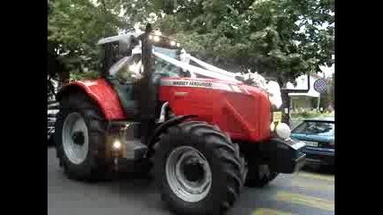 На Сватба С Трактор