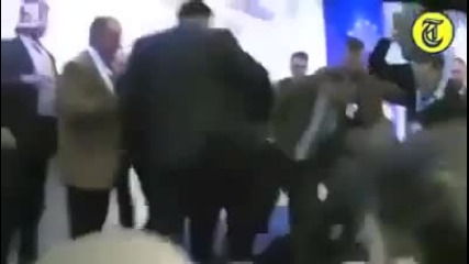 Най-бруталният Harlem Shake в Европа!
