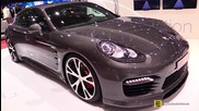 2015 Porsche Panamera Diesel Techart - Exterior and Interior Walkaround - 2015 Geneva Motor Show