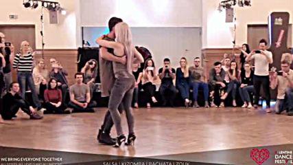 Sarah Lpez Reda - Masterclass Kizomba Fusion at Valentine Dance Festival 2017