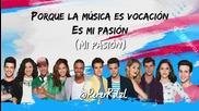 Violetta 3 - Es mi pasion - letra