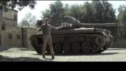 Арнолд Шварценегер подкара танк