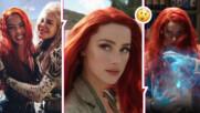 """Рокада: Амбър Хърд - уволнена от продукцията на """"Аквамен""""? Емилия Кларк я замества?"""