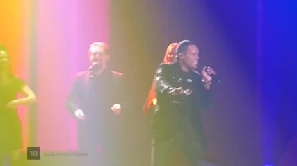 Valentina Monetta and Jimmie Wilson - Spirit of the Night San Marino Live at the second Semi-final