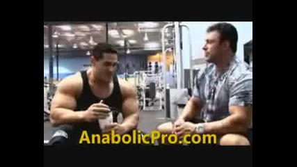 Gustavo Badell - Mr Olympia 2008 Prep.
