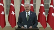 Turkey: 'It means nothing to us' - Yildirim shrugs off EU decision to halt membership talks