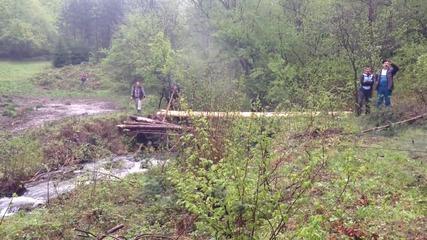 Опит 13 - дърпане на мост