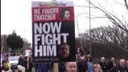 UK: Thousands protest closure of UK's last deep coal mine