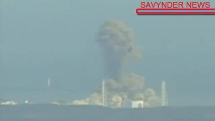 Директно От Япония Новите 2 Взрива В 3 Реактор (специални Кадри)