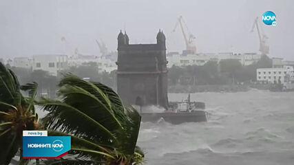 127 души са в неизвестност край бреговете на Индия заради циклон