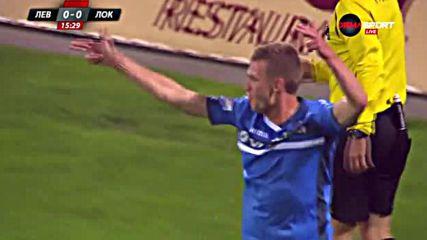Супергол на Венци Христов даде аванс на Левски срещу Локомотив
