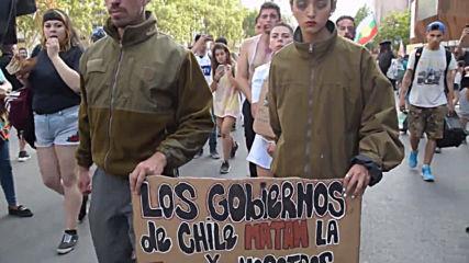 Chile: Violent clashes as protesters commemorate Mapuche man's killing