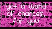 Demi Lovato - World of Chances (lyrics)