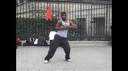 супер брейк танц на улицата