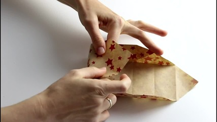 Оригами кутийка