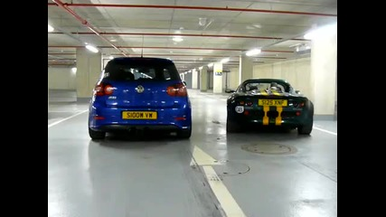 Golf R32 Vs. Lotus Elise