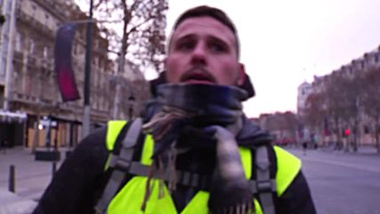 France: 'It's not what we wanted' – Dissatisfied Yellow Vests regroup in Paris