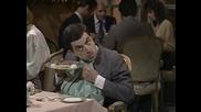 Мистър Бийн в ресторант