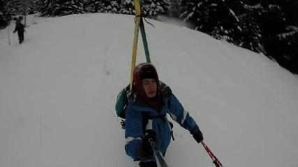 Зимен поход от гр.Карлово до х.Левски