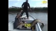 Хващане На Огромна Риба!