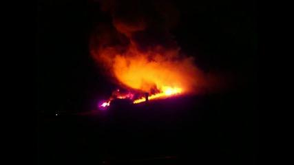 Голям пожар в Гърция 2