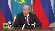 """Kazakhstan: U.S's refusal to engage in dialogue over Syria is """"unconstructive"""" - Putin"""