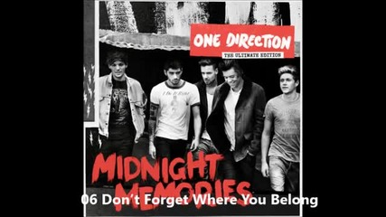 Midnight Memories - One Direction (full Album) The Ultimate Edition (deluxe)