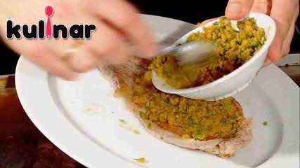 Рецепта за Свинско бон филе по Провансалски