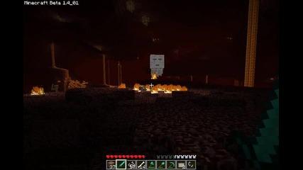 Minecraft: уроци:урок 16: портал към ада и картини