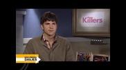 Killers with Ashton Kutcher and Tom Sellecks Mustache