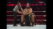 Alexander Rusev vs Goldust - Wwe Raw 30.03.2015