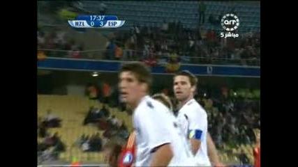 14.06 Испания - Зеландия 5:0 Фернандо Торес трети гол ! Купа на Конфедерациите