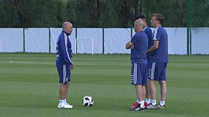 Russia: Messi and co. train on eve of Argentina v. Croatia clash