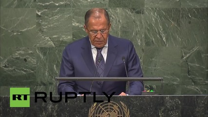 USA: Russia welcomes 2030 Agenda for Sustainable Development - Lavrov