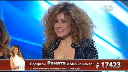 Ренета Ганева - X Factor Live (04.11.2014)