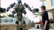 Giant Robot Storms San Diego Comic Con 2013 - Wired - Geek Week