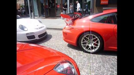 Porsche Gt3 + Gt3 Rs + Ferrari California в Истанбул..