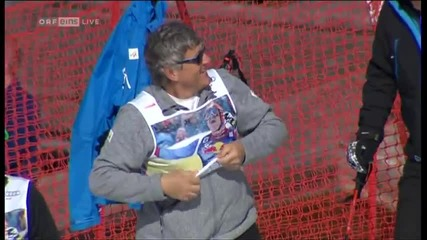 Didier Cuche сложиш край на спортната си кариера по един страхотен начин!!!