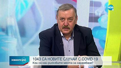 1043 новозаразени с COVID-19 у нас (ВИДЕО)