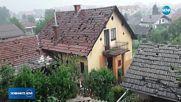 МОЩНА БУРЯ: Силна градушка връхлетя Словения