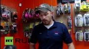 """САЩ: """"Зона без ислямисти"""" магазин за оръжие, в който се продава флага на Конфедерацията"""