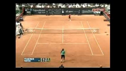 Federer - Nadal Hamburg 07 Final