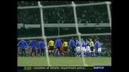 Отбора на Роналдиньо срещу отбора на Шевченко Част 1