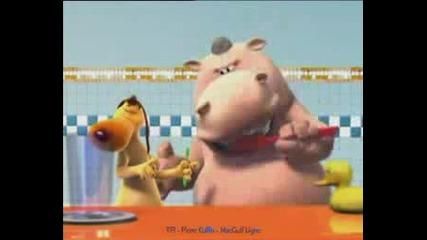 Хипопотамката И Кучето - Танц В Банята