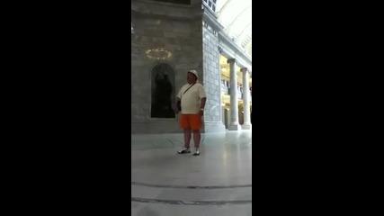 Българин под ротондата в Капитолията на щата Юта.