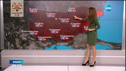 Прогноза за времето (18.09.2015 - сутрешна)