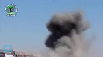Syrian Warplanes Attack Areas Near Army Helicopter Crash Site
