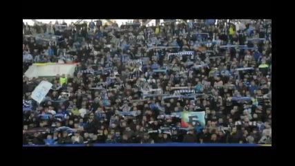 Феновете на Левски на дербито срещу Прасетата, 28.10.2011