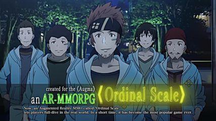 Sword Art Online Movie: Ordinal Scale - Trailer 1 - English Subtitled