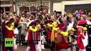 Netherlands: 'Racist' Black Pete and Sinta Klass parade divides Meppel